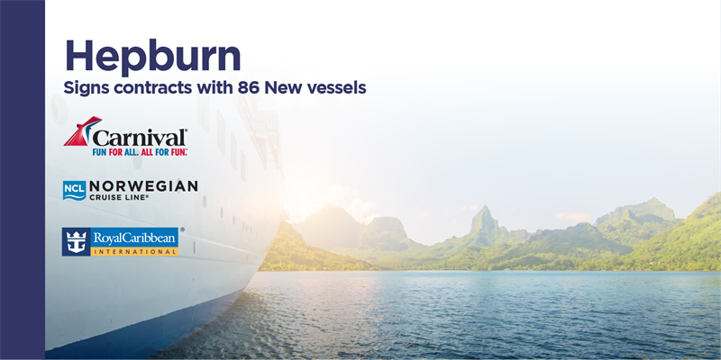 "Carnival Cruise Lines, Royal Caribbean International, and Norwegian Cruise Lines are ""Going Green"" with Hepburn Bio Care products!"