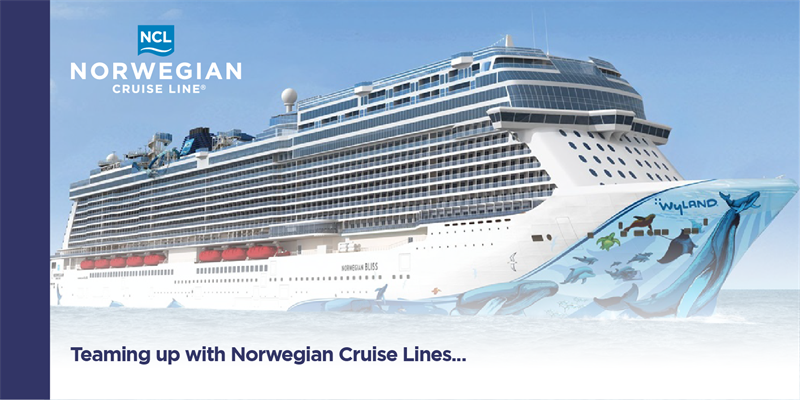 Teaming up with Norwegian Cruise Lines