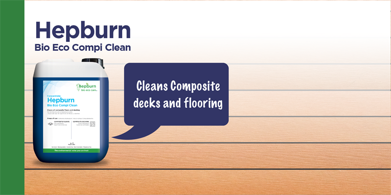 Our composite flooring cleaner now has a new name and a new look!