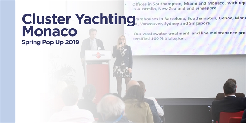 Cluster Yachting Monaco - Spring Pop Up 2019