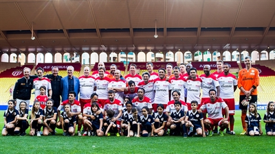 Star team for Children in Monaco