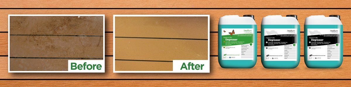 07 - Before & After Degreaser